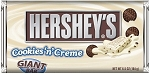 Hersheys Cookies and Cream Giant Candy Bars, (Pack of 12)