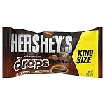 Hersheys Milk Chocolate Drops King Size Candy Bars, (Pack of 18)