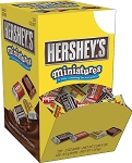 Hersheys Assorted Miniatures, (Pack of 120)