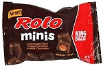 Rolo Minis King Size Candy, (Pack of 16)