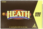 Heath Bar King Size Candy Bars, (Pack of 18)