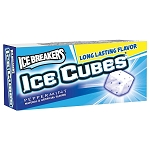 Ice Breakers Ice Cubes Peppermint Gum, (Pack of 8)