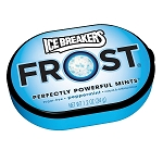 Ice Breakers Frost Peppermint Mints, (Pack of 6)