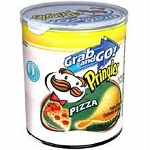 Pringles Pizza Flavor Chips, (Pack of 12)