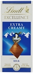 Lindt Excellence Extra Creamy Milk Chocolate Bars, (Pack of 12)