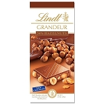 Lindt Grandeur Whole Hazelnut Milk Chocolate Bars, (Pack of 13)