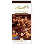 Lindt Grandeur Whole Hazelnut Dark Chocolate Bars, (Pack of 13)