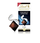 Lindt Excellence Coconut Dark Chocolate Bars, (Pack of 12)
