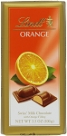 Lindt Milk Chocolate Orange Bars, (Pack of 12)