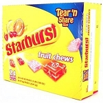 Starburst King Size Original Candy, (Pack of 24)
