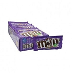 M and M Dark Chocolate Candy, (Pack of 24)