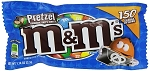 M and M Pretzel Candy, (Pack of 24)