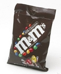 M and M Plain Chocolate Candy, 5.3 Ounce Bags, (Pack of 12)