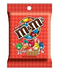 M and M Peanut Butter Candy 5.1 Ounce Bags, (Pack of 12)