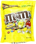 M and M Peanut Chocolate Candy, 56 Ounce Bag