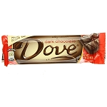 Dove Dark Chocolate Candy Bars, (Pack of 18)