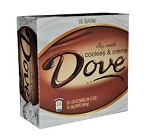 Dove Cookies and Cream Candy Bars, (Pack of 18)