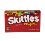 Skittles Original Candy Movie Size Box, (Pack of 12)