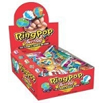 Topps Twisted Ring Pops, (Pack of 24)