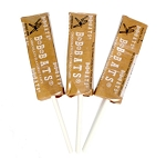 BB Bats Chocolate Taffy Pops, (23 Pounds)