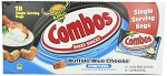 Combos Buffalo Blue Cheese Pretzel Snacks, (Pack of 18)