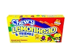 Chewy Lemonhead and Friends Movie Theater Size Candy, (Pack of 12)