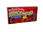 Chewy Redhead Lemonhead and Friends Movie Theater Size Candy, (Pack of 12)