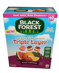 Black Forest Triple Layer Fruit Snacks, (40 Pack)