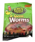 Black Forest Gummy Worms, 4.5 Oz (12 Pack)