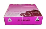 Joyva Chocolate Covered Raspberry Jelly Rings, 5 Pounds