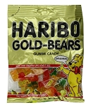 Haribo Gold Bears, 5 Ounce Bags (Pack of 12)