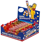 Haribo Mega Roulette Wheels, (Pack of 24)