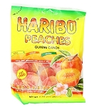 Haribo Peaches, 5 Ounce Bags (Pack of 12)