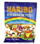 Haribo Rainbow Frogs, 5 Oz Bags (Pack of 12)