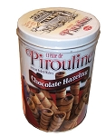 Pirouline Artisan Rolled Wafers Chocolate Hazelnut, 32 Ounces