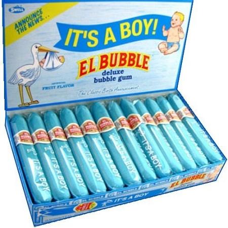 Its A Boy Bubble Gum Cigars Theonlinecandyshop Com Buy