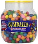 Dubble Bubble Half Inch Gumballs, (Pack of 680)