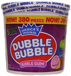 Dubble Bubble Assorted Bubble Gum, (Pack of 300)