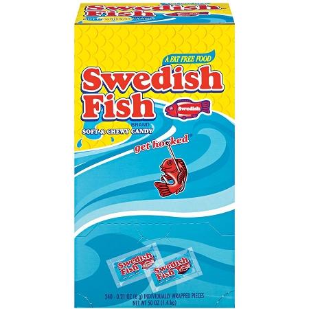 Swedish fish 240 count box buy for Swedish fish box