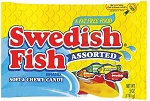 Assorted Swedish Fish 5 Ounces, (12 Pack)