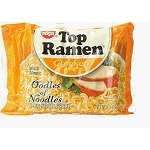 Nissin Top Ramen Chicken Flavor 24 Count, (Pack of 12)