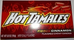 Hot Tamales Candy 5 Ounce Movie Size Box, (Pack of 12)