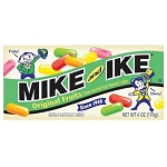 Mike and Ike Original Retro Box Candy Movie Size Box, (Pack of 12)