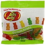 Jelly Belly Gummi Bears, (Pack of 12)