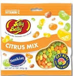 Jelly Belly Sunkist Citrus, (Pack of 12)
