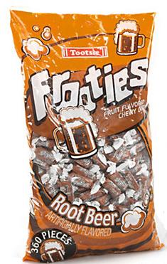 Tootsie Rolls Frooties Root Beer 360 Count Bag