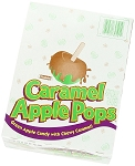 Tootsie Roll Caramel Apple Lollipops, (Pack of 48)