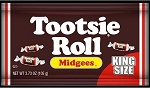 Tootsie Rolls Midgees King Size Candy, (Pack of 12)