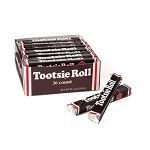 Tootsie Roll Candy Bars, (Pack of 36)