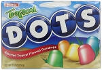 Tropical Dots Movie Theater Size Candy, (Pack of 12)